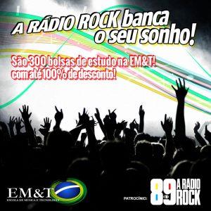 Bolsas de estudo: A Rádio Rock, 89,1 FM, banca o seu sonho