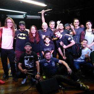 Bateria: Douglas Maiochi colocou 20 de seus alunos no palco