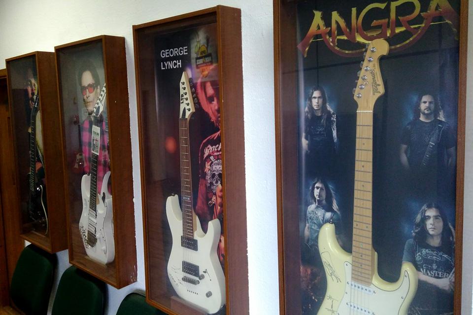 guitarras autografadas
