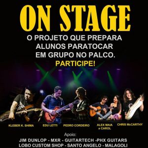 Professores convidam para o projeto On Stage