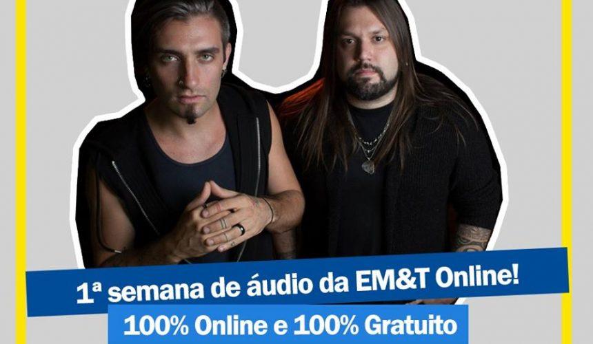 Produção musical a distância: Primeira semana 100% gratuita