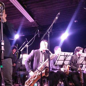 Speakin'Jazz Big Band grava apresentação na EM&T