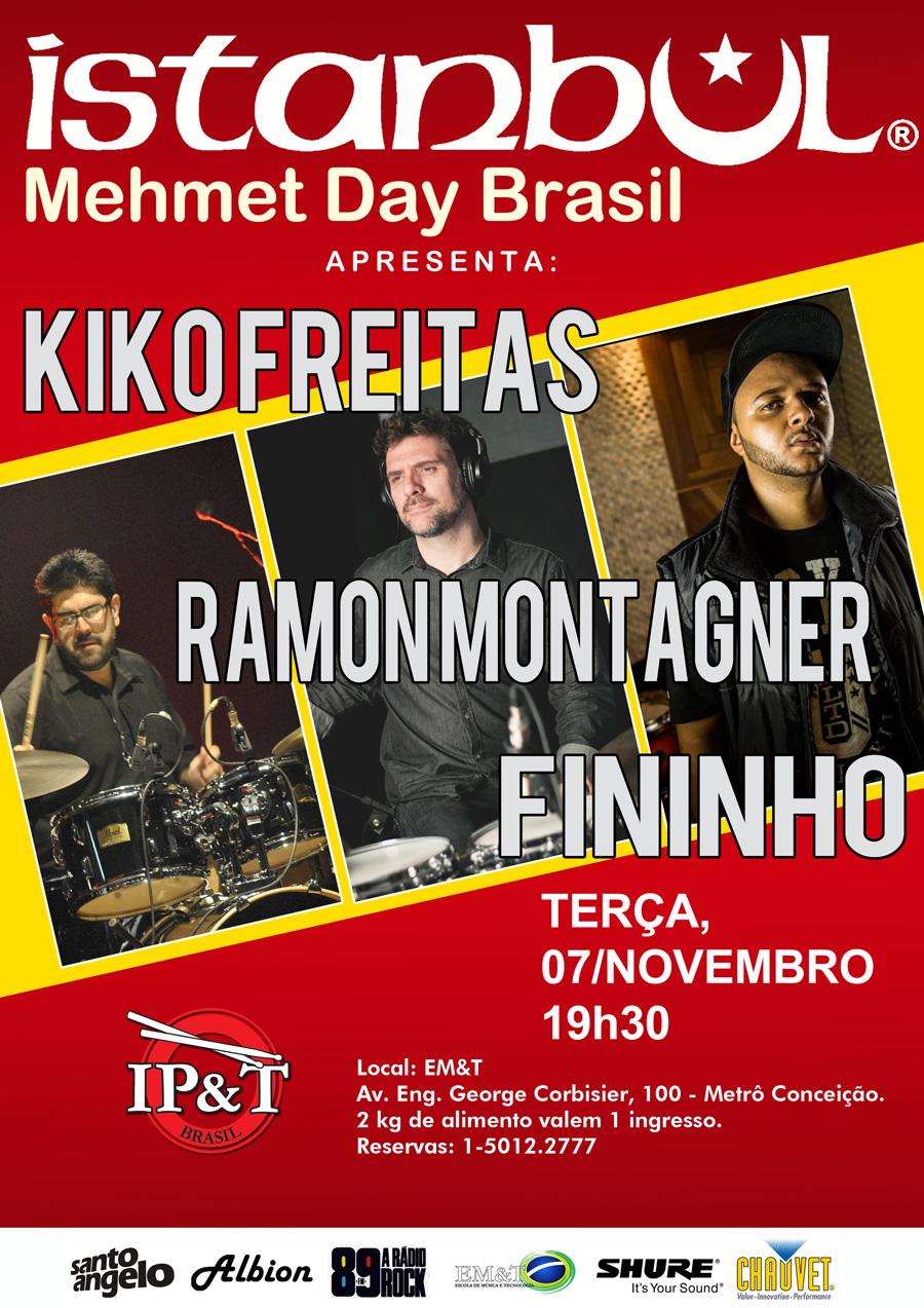 Kiko Freitas, Ramon Mont Agner e Fininho