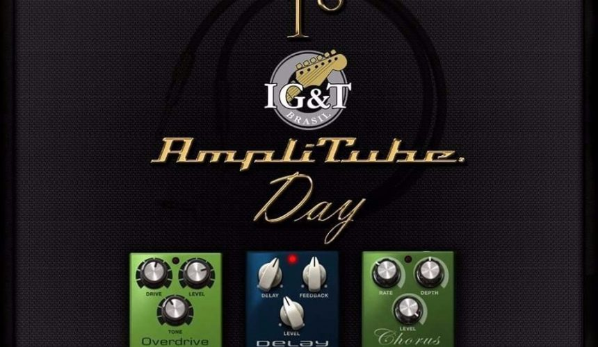 Os prêmios do 1º IG&T Amplitube Day