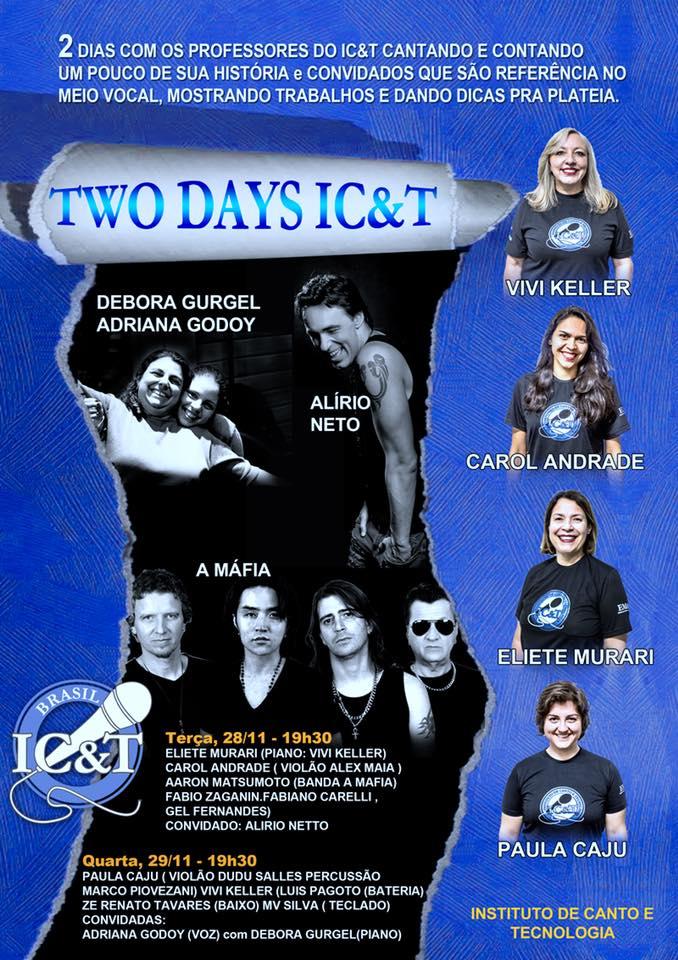 Two Days IC&T: Dois dias incríveis