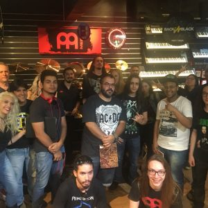 Veja como foi o workshop do Rodrigo Oliveira, promovido pela Meinl