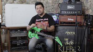 Kleber K Shima: Setup guitarra