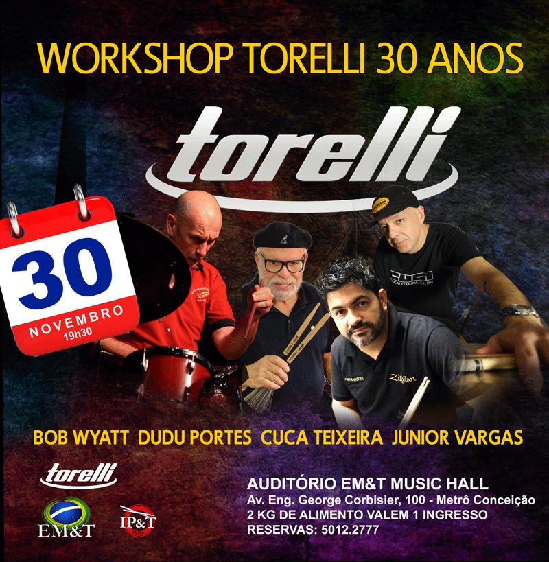Torelli 30 anos: Para comemorar as três décadas da Torelli Musical