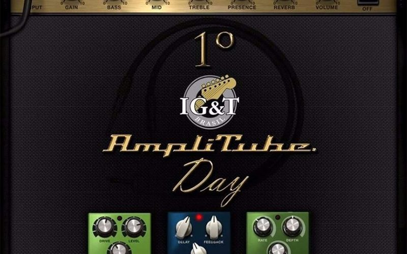 Saiu o resultado do 1º IG&T Amplitube Day!