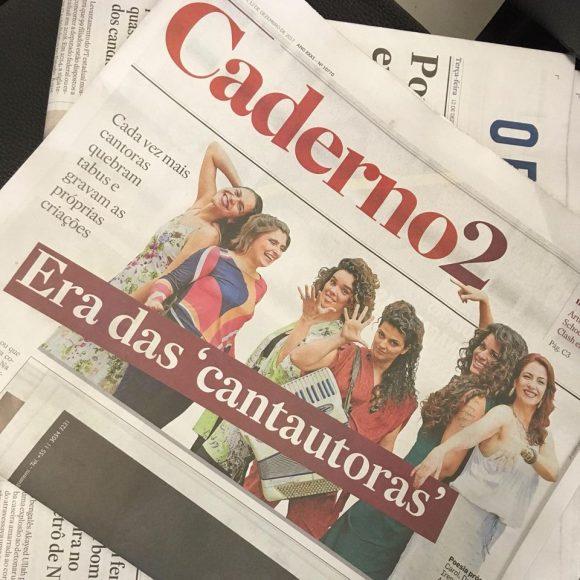Professora Carol Andrade em matéria sobre cantoras que também são compositoras