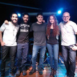 Prova aberta dos alunos de guitarra do professor Michel Caramelo