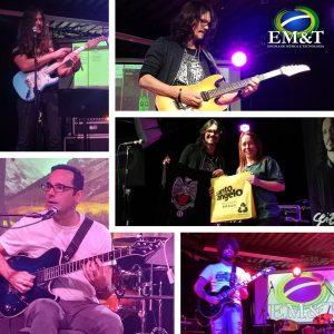 Como foi o DIA NA EM&T para conhecer o curso de guitarra