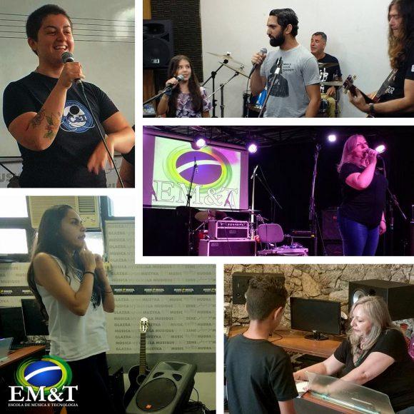 Saiba como foi o DIA NA EM&T para conhecer o curso de canto!