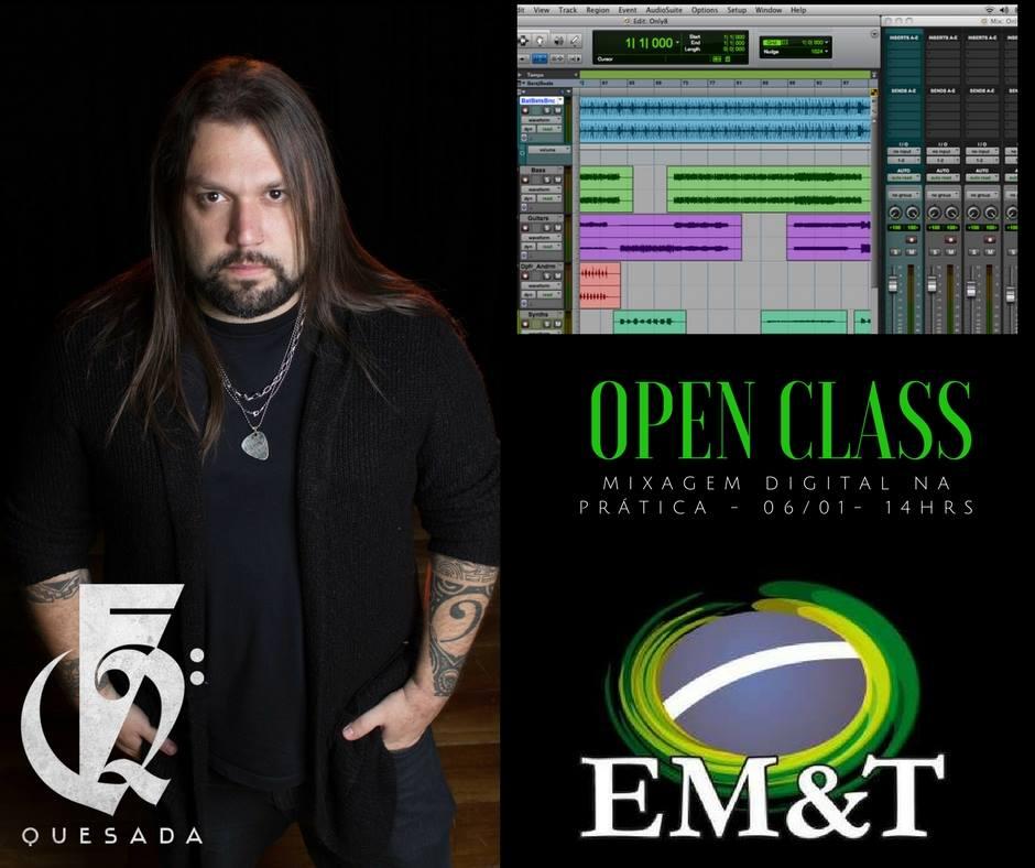 Mixagem Digital para Home Studio com Fernando Quesada
