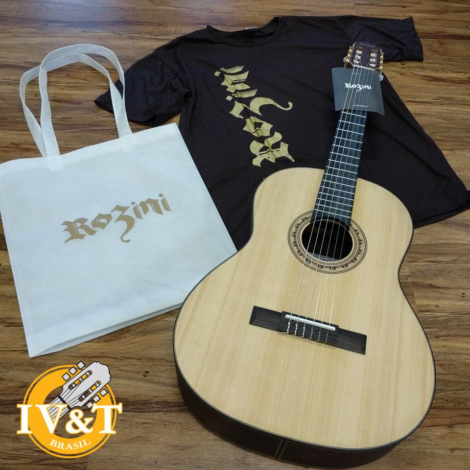 Concorra a um violão Rozini