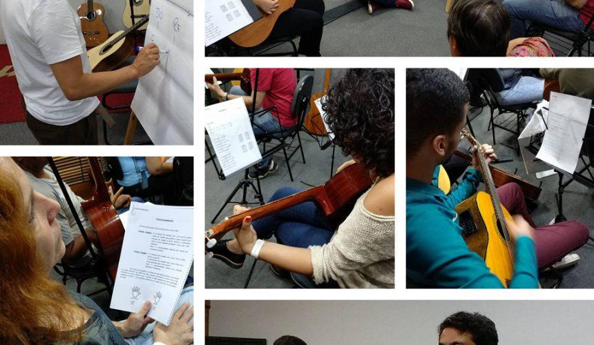 Como foi o DIA NA EM&T para conhecer o curso de violão