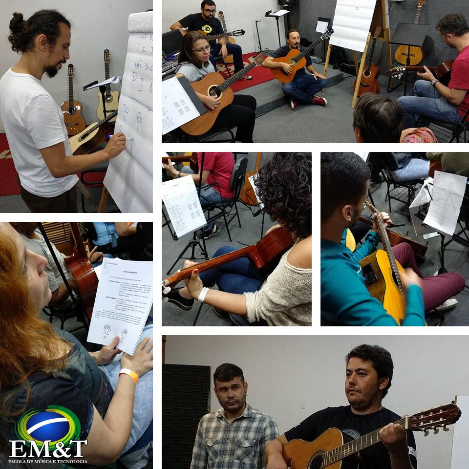 DIA NA EM&T para conhecer o curso de violão