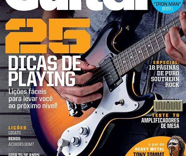Chegou às bancas a Total Guitar #38!