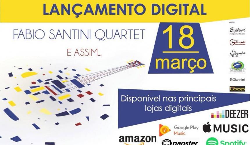 """Professor Fabio Santini lança seu primeiro disco: """"E Assim"""""""
