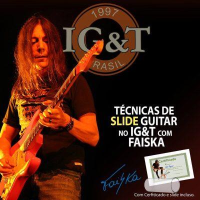 Slide Guitar com Faiska