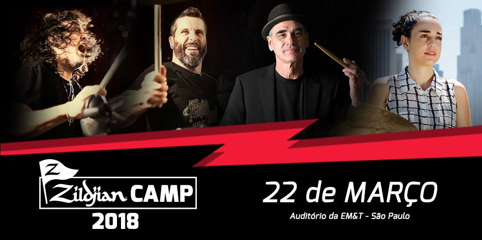 Zildjian Camp 2018 na EM&T