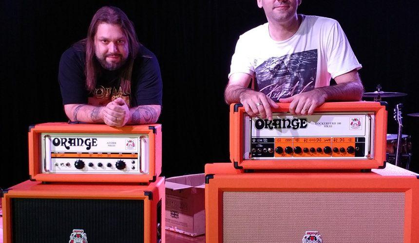 Amplificadores Orange: Agora no auditório da EM&T