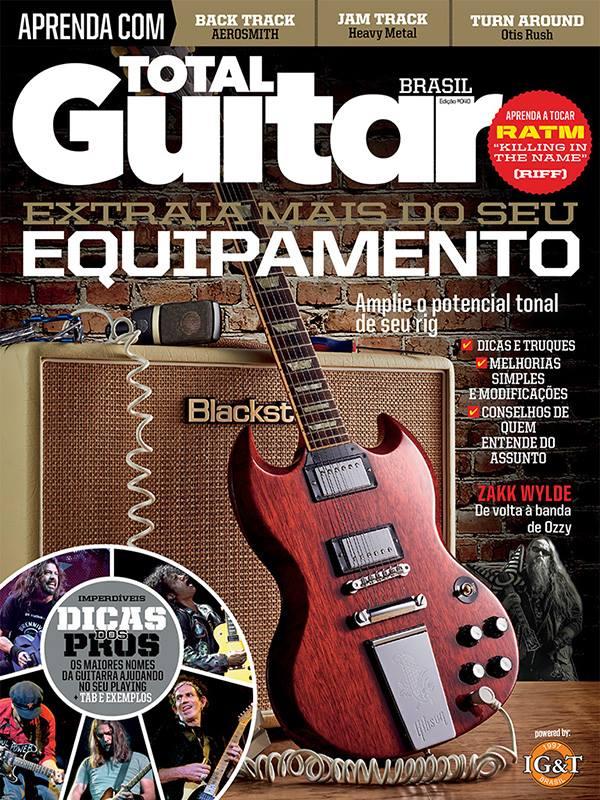 Total Guitar 40 - Garanta a sua!