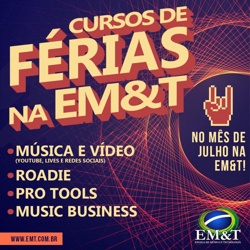 Curso de Férias na EM&T!