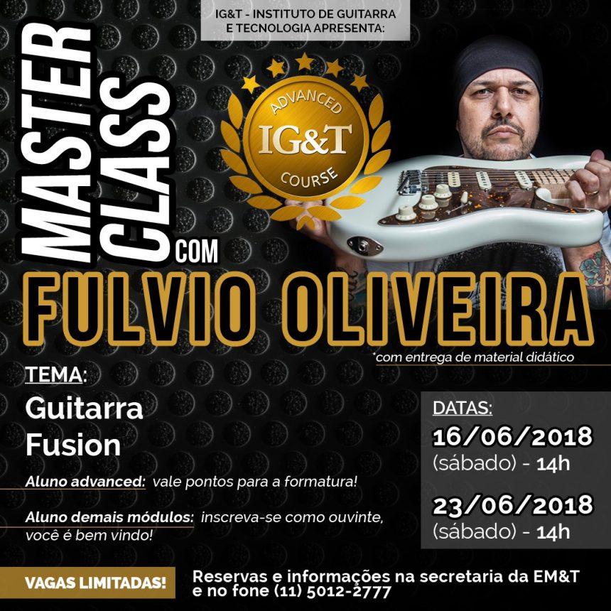 Masterclass Fulvio Oliveira