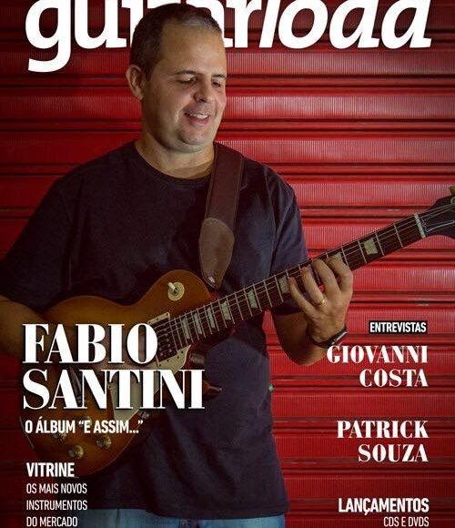 Professores na mídia: Fabio Santini é capa de revista