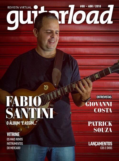 Fabio Santini é capa de revista