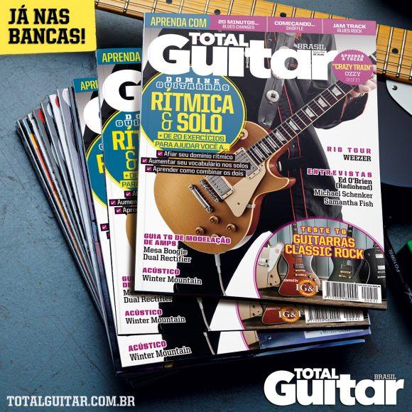 Chegou às bancas a Total Guitar #41