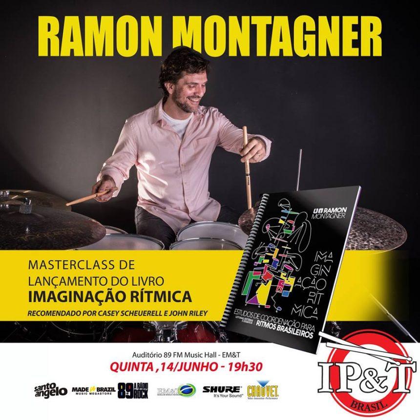 """Ramon Montagner lança livro """"Imaginação Rítmica"""""""