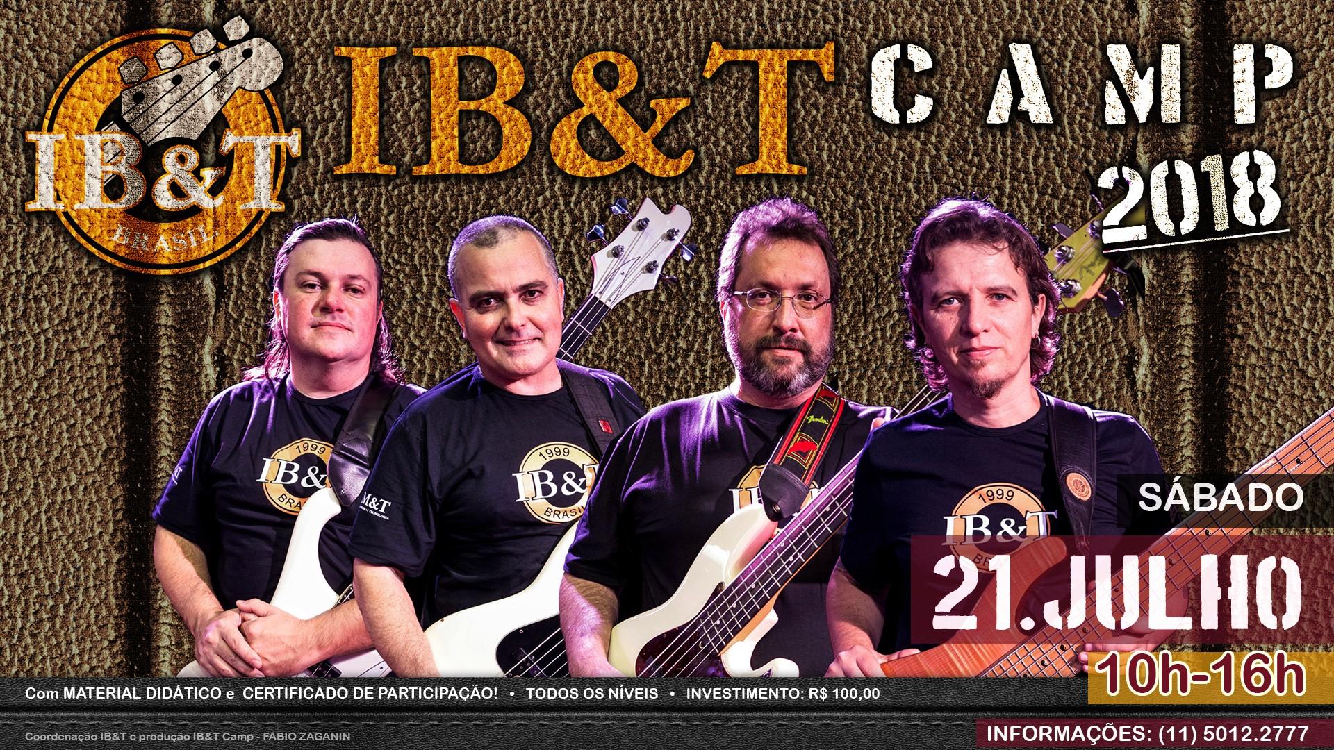 IB&T Camp 2018: aulas especiais de baixo