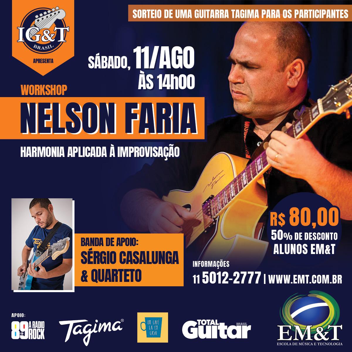 Harmonia Aplicada à Improvisação com Nelson Faria