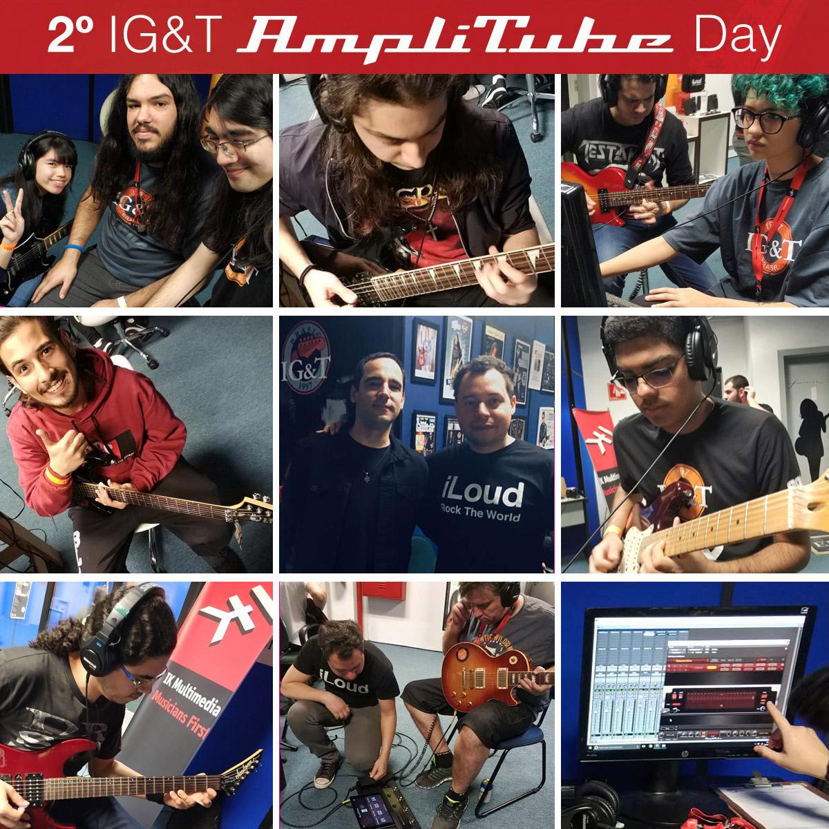 O 2º IG&T Amplitube Day foi um sucesso!