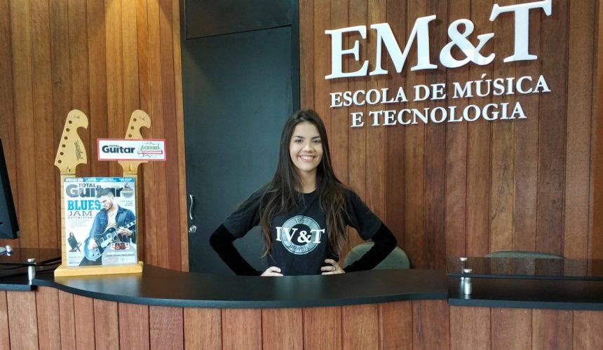 Ficou linda a nova recepção da EM&T!