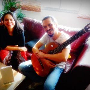 Professores em ação na Europa: Parabéns Carol Andrade e Alex Maia!