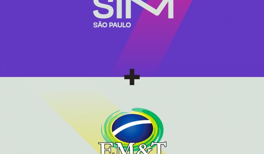 Parceria EM&T + SIM São Paulo 2018: Desconto para alunos e professores