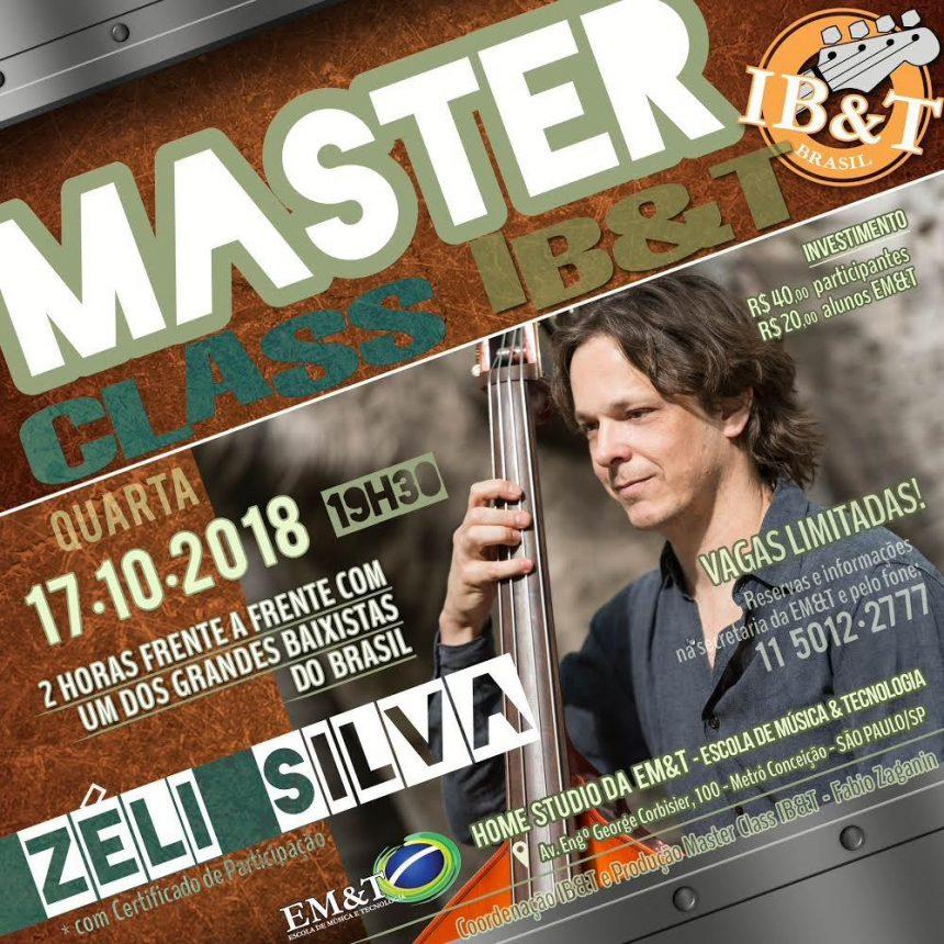 ZÉLI SILVA ministra masterclass na EM&T dia 17/10/2018
