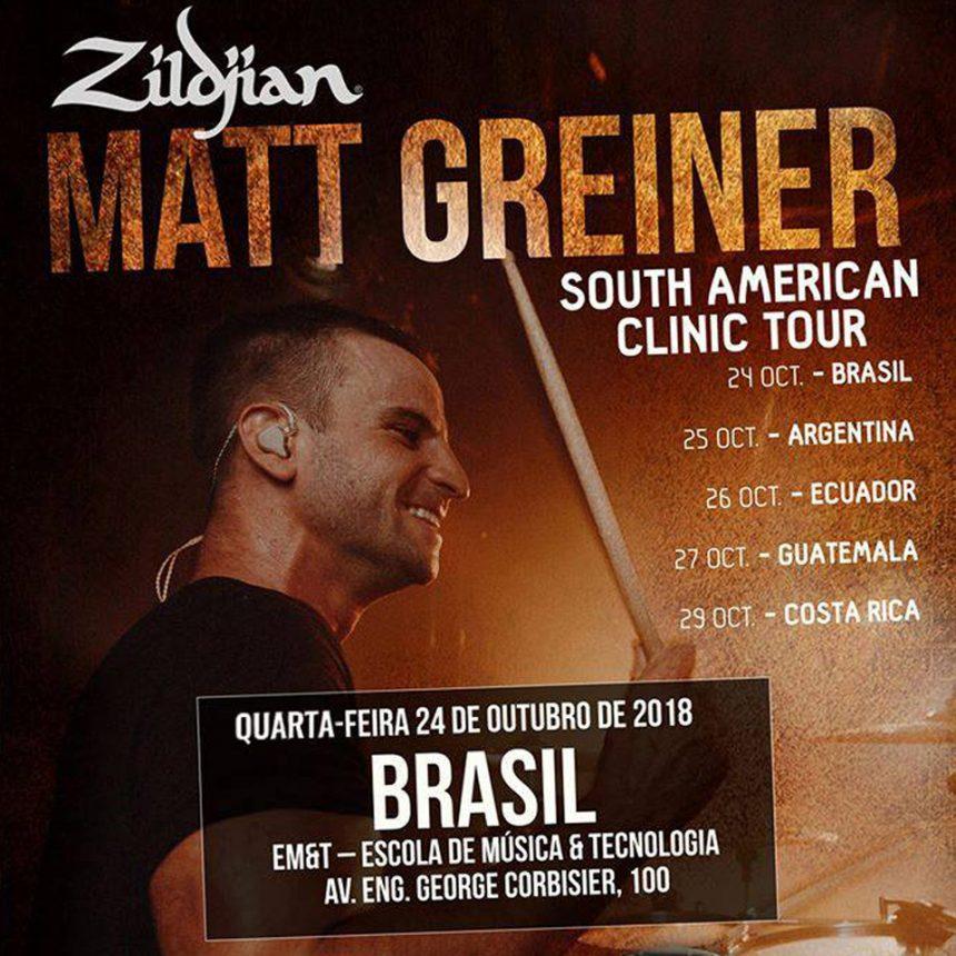 Matt Greiner South American Clinic Tour