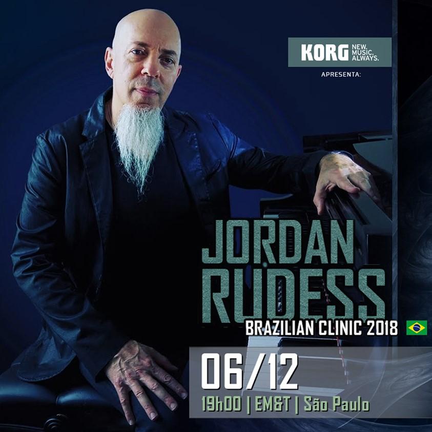 Clínica de Jordan Rudess na EM&T