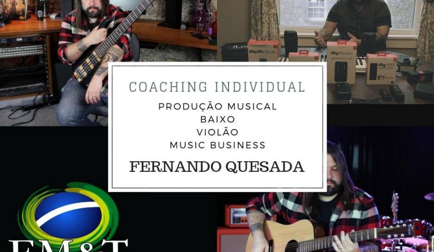 Coaching musical individual com Fernando Quesada