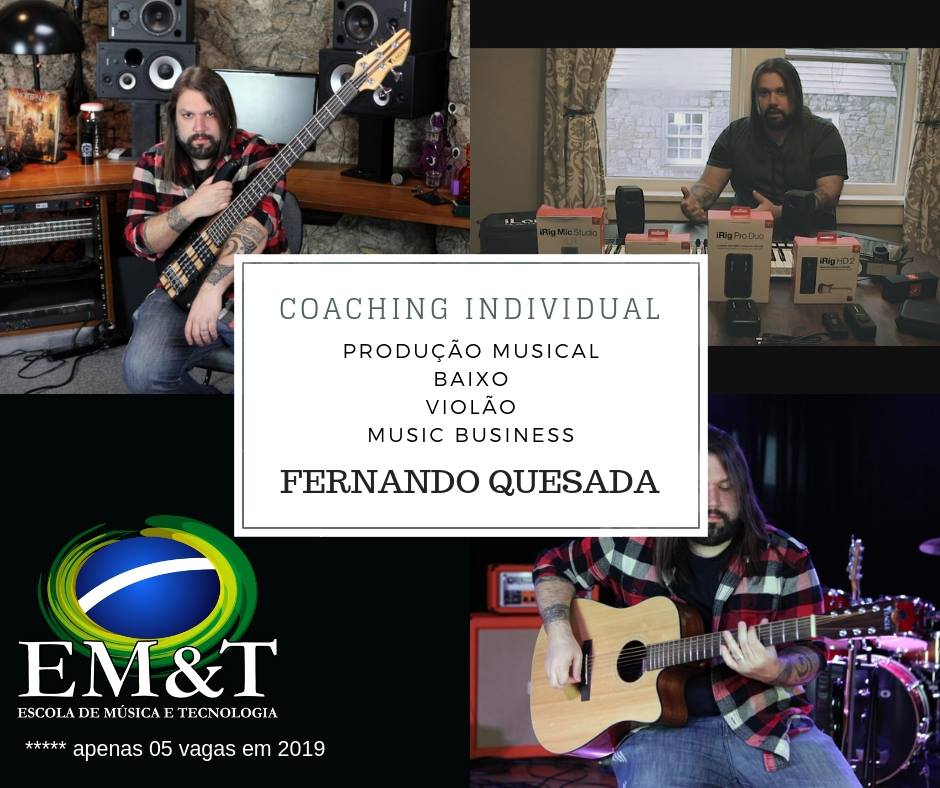 Coaching Musical individual com Fernando Quesada