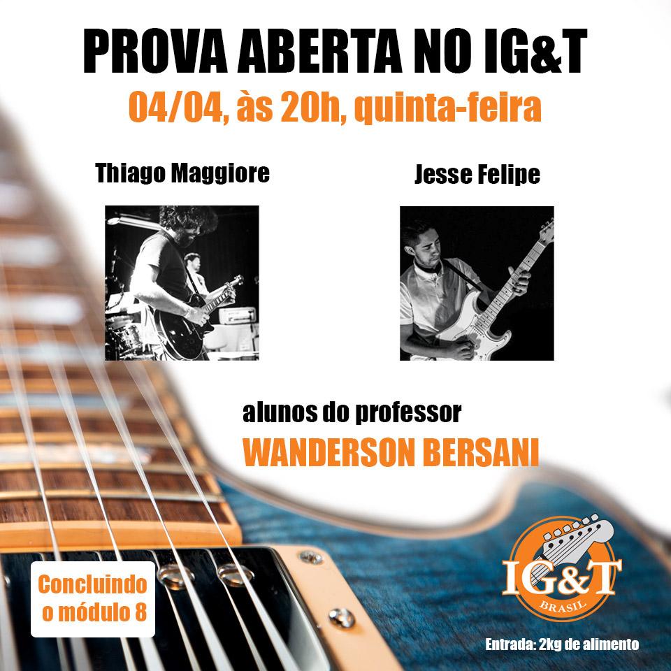 Próva prática do módulo 8 IG&T: Thiago Maggiore e Jesse Felipe