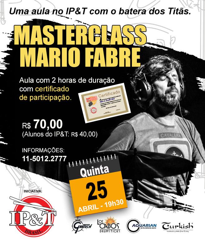 Masterclass Mario Fabre na EM&T