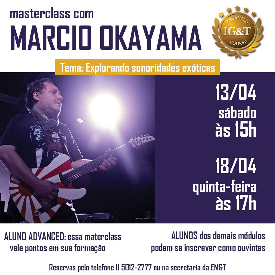 Masterclass com Marcio Okayama - IG&T Advanced