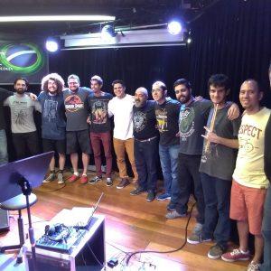 Audição de alunos de bateria: prof. Fabiano Paz, junho 2019