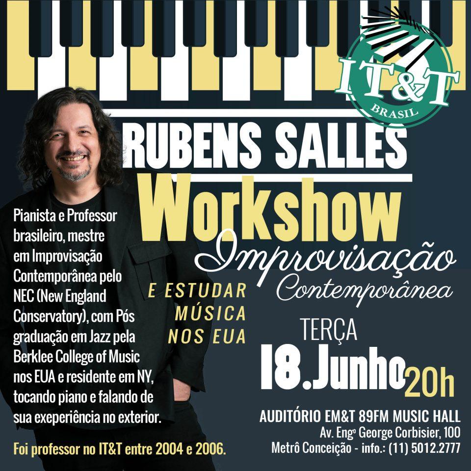Rubens Sales na EM&T: Improvisação Contemporânea