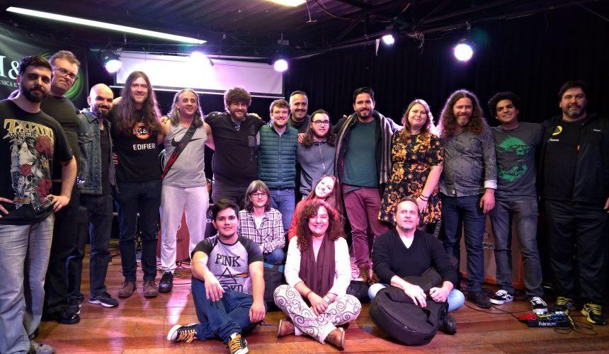 On Stage: Turmas de Pop Rock, Instrumental e Blues no palco